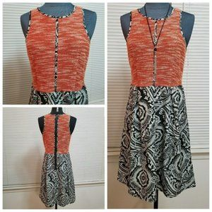 *SOLD* THML Dress Sleeveless Fit And Flare
